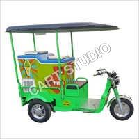 200 Ltr Refrigerator Ice Cream E Rickshaw