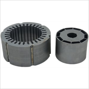 PMDC Motor Welded Stator And Auto Lock Rotor Stamping