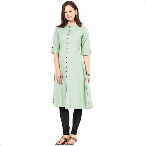 Ladies Cotton Full Sleeve Kurti