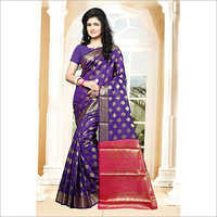 Ladies Banarsi Casual Saree