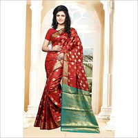 Ladies Banarsi Designer Saree