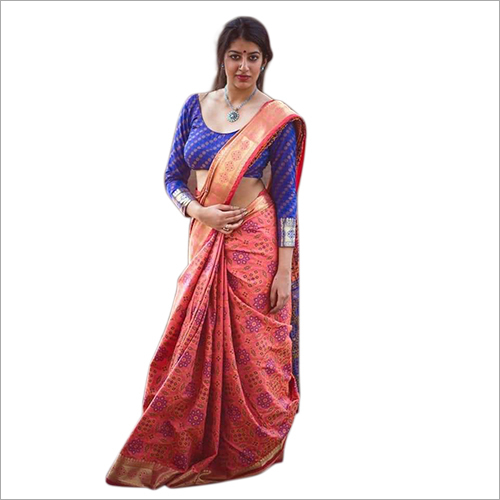 Ladies Casual Bandhani Saree