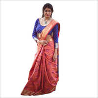 Ladies Casual Bandhani Saree