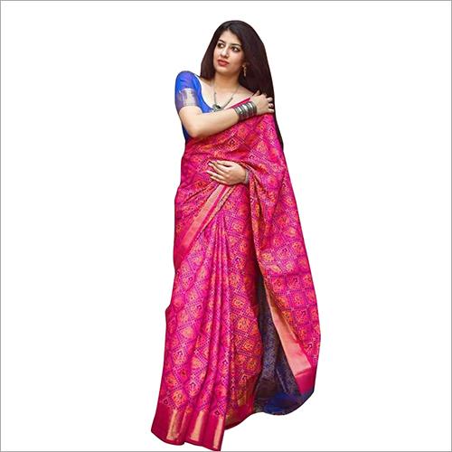 Ladies Designer Bandhani Saree