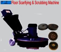 Heavy Duty Floor Scrubber cum Scarifying