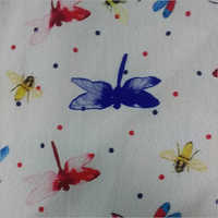 Cotton Multicolor Printed Fabric