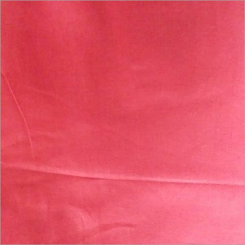 Polyester Red Fabric