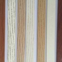 wood pre-glued pvc plastic edge banding for melamine mdf