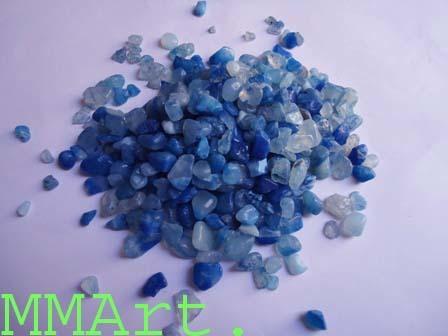 colorful gravels polished & unpolished aggregate