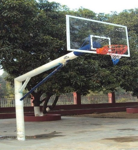 Basketball Pole Fix 6 Round