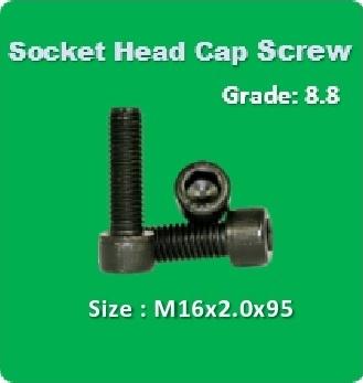Socket Head Cap Screw M16x2.0x95