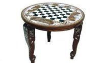 Chess Table (Round)