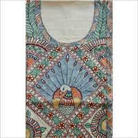 Handmade Printed Ladies Silk Suits