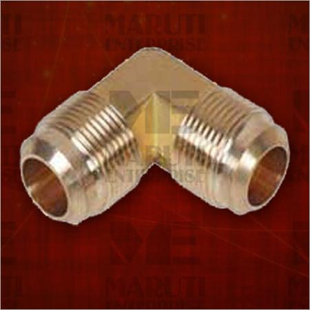 Brass Flare Elbow Union