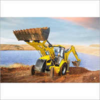 Mahindra Earthmaster Backhoe Loader