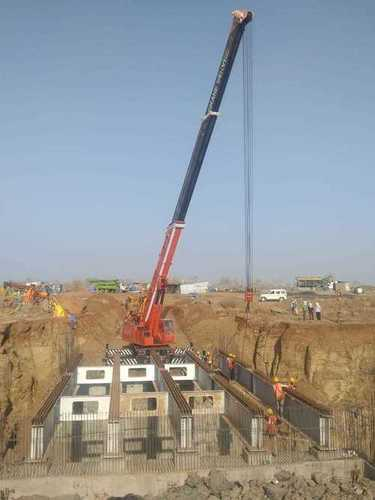 Bridge Erection Work
