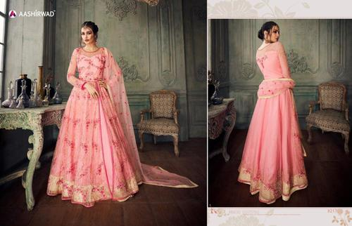 Floor Length Wedding Anarkali Suit