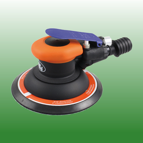 "AIR PNEUMATIC 5"" SELF-GENERATED VACUUM RANDOM ORBIT SANDER"