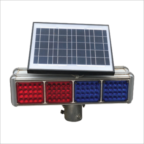 Solar Chevron And Solar Traffic Blinker