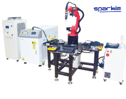 Robotic Fiber Laser Welding Machine