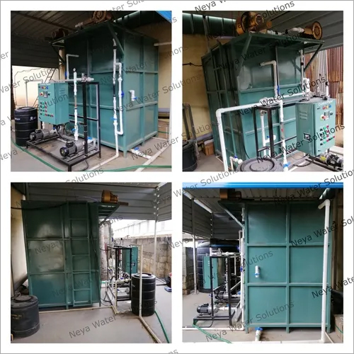 Fully Automatic Wastewater Treatment Plant