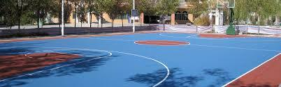 Basketball Court Flooring - acrylic