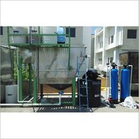 Automatic Effluent Wastewater Treatment Plant