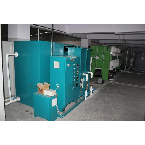 Electrocoagulation Water Treatment System