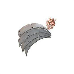 BRAKE LINING WITH RIVITS
