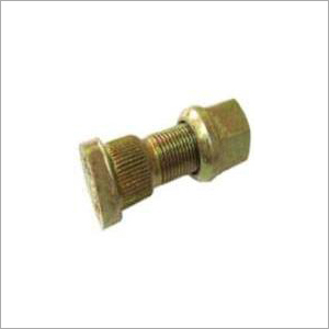 FRONT WHEEL HUB BOLT WITH NUT