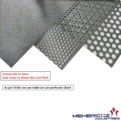 SS Perforated Sheet & Wire Mesh