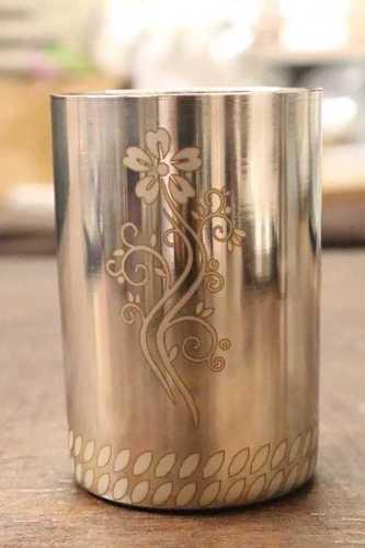 Stainless steel Laser Designer Glass