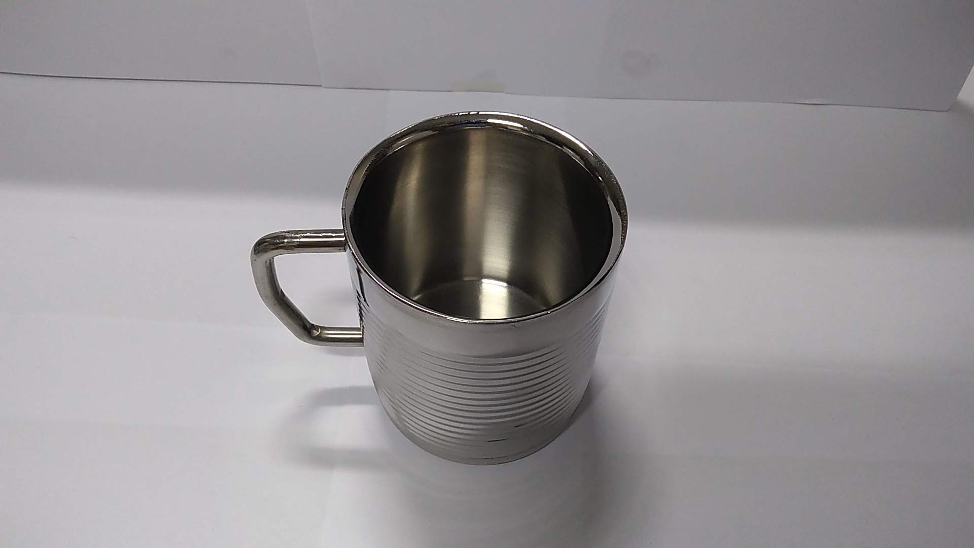Stainless steel Round Double walled mug
