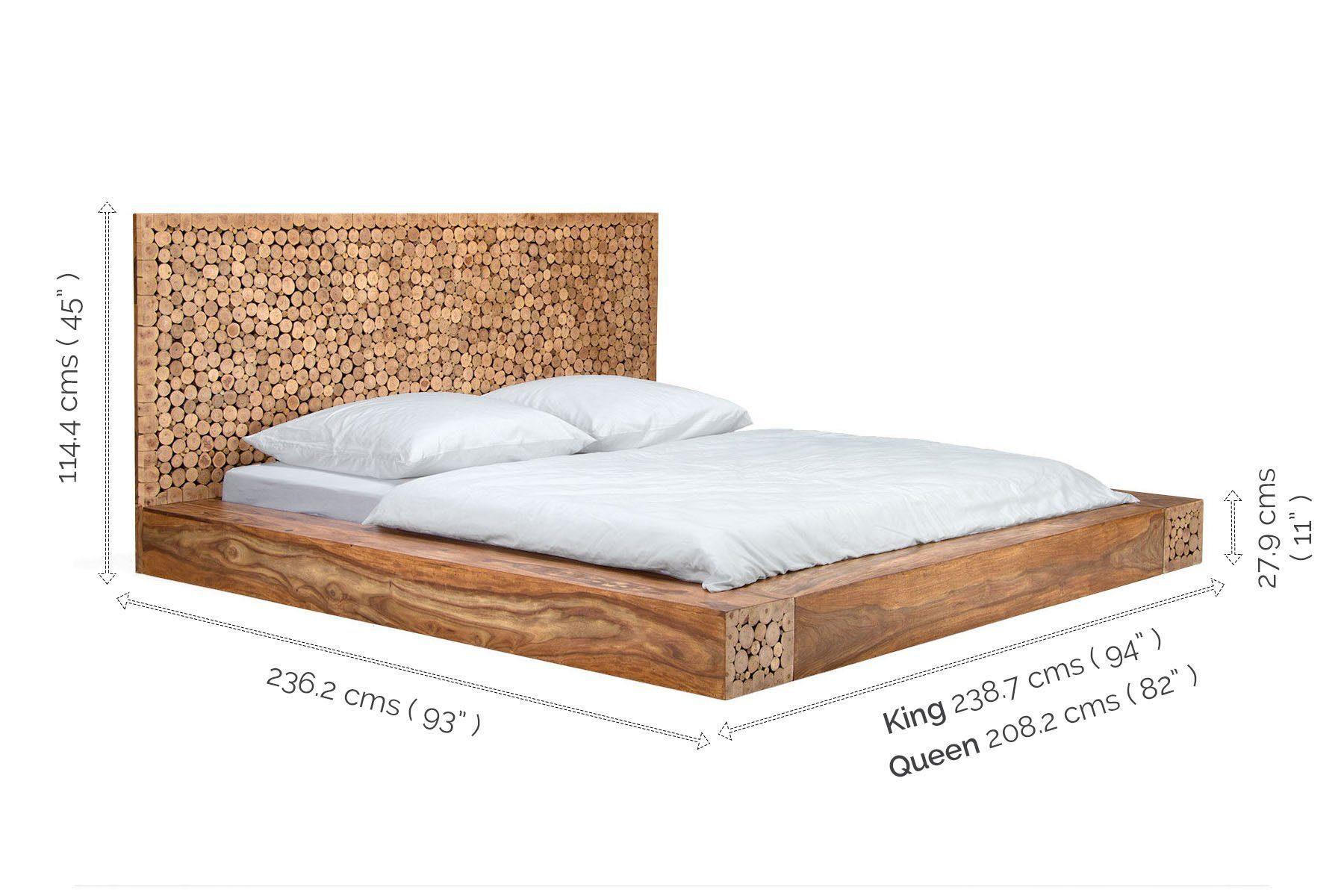 Designer wooden bed Ravisher
