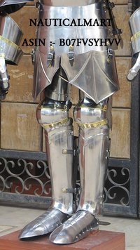 NAUTICALMART Medieval Wearable Suit of Armor Knight Ancient Men at Arms Full Body Armor Halloween Costume