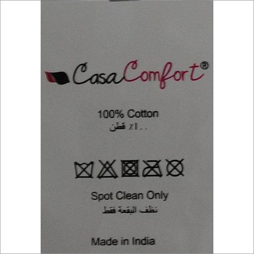 Casa Comfort Printed Labels