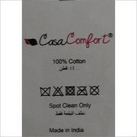 Casa Comfort Printed Labels