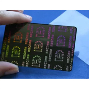 ID CARD Holographic Overlay (Secure Keyhole)