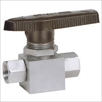 Panel Mounting Two Way Ball Valve