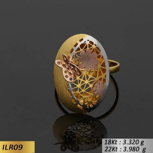 Italian Oval Ladies Ring