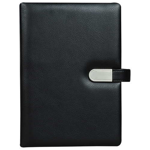 PU Leather Flash Notebook