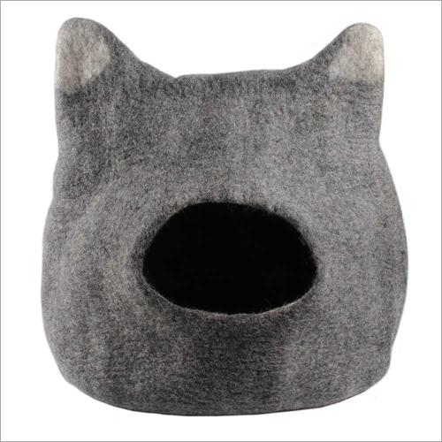 Felt Cat Face Cat Cave