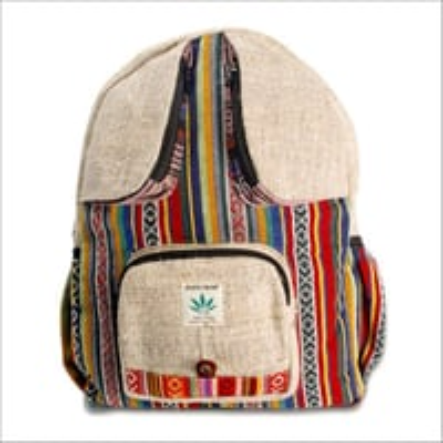 Bee Eyes Hemp Backpack