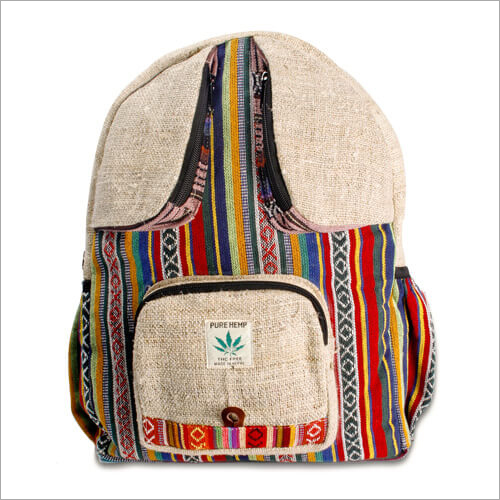 Bee Eyes Hemp Backpack