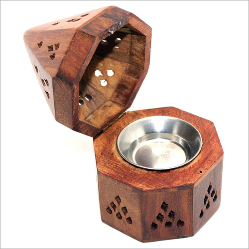 Cone Shaped Wooden Incense Sticks Burner