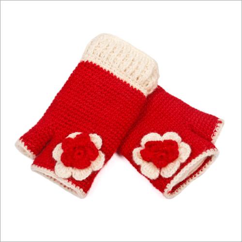 Red Rose Woolen Hand Warmer
