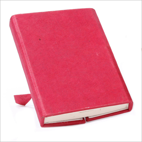 Reddish Cover Writing Journal