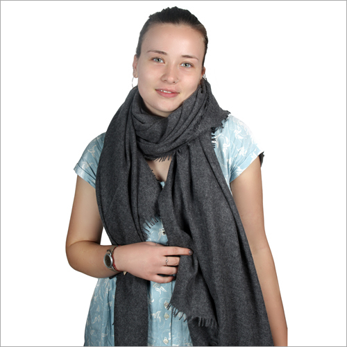 Charcoal Soft Pashmina Shawl