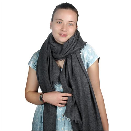 Charcoal Soft Pashmina Shawl