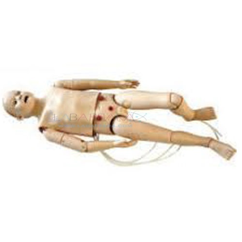 Full-Functional Child CPR and Nursing Manikin (5 Years) with monitor